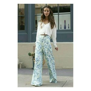 Lovers + Friends willow floral wide leg pants